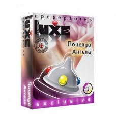 Luxe №1 Поцелуй ангела - презервативы с шариками, 18 см