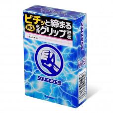 Sagami Squeeze, японские латексные презервативы, 19 см