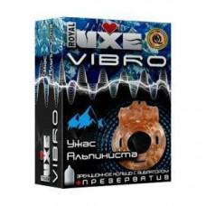 Презерватив с виброкольцом Ужас Альпиниста - Luxe, 1 шт